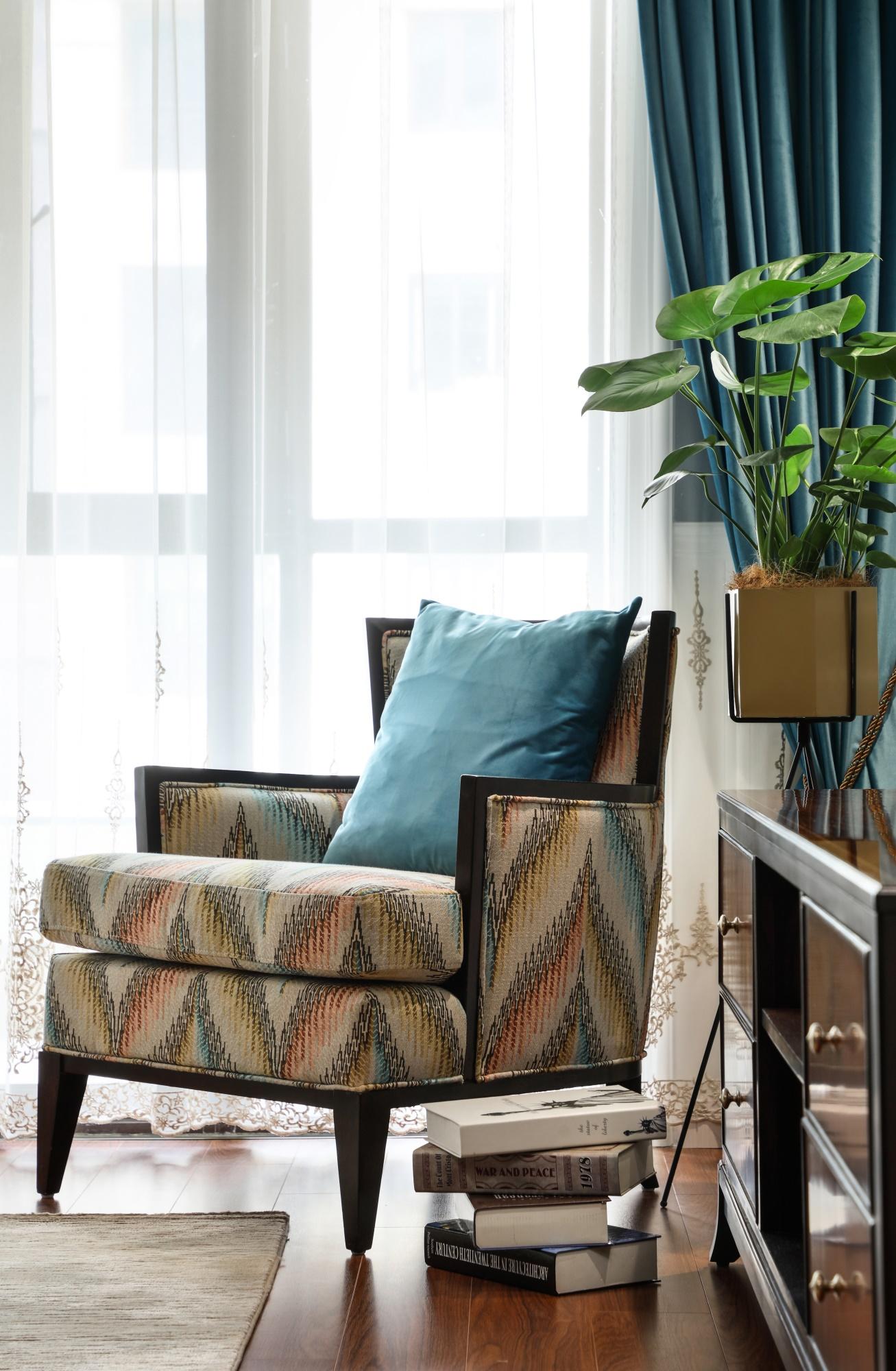 137平美式风格装修沙发椅设计