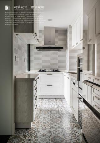 120㎡美式风厨房装修效果图