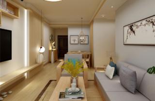 日式风格二居装修效果图