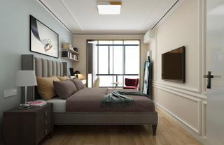 现代简约二居卧室每日首存送20