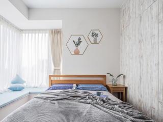 128平北欧风卧室装修效果图