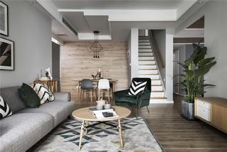 北欧风格四居客厅每日首存送20