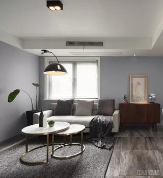 现代风格二居室装修客厅沙发设计