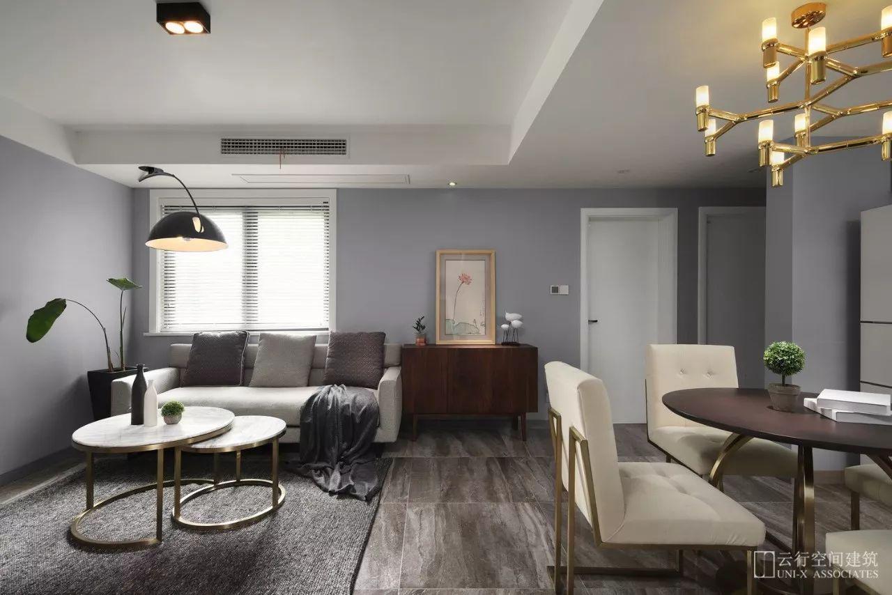现代风格二居室客餐厅装修效果图