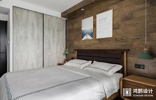 90平米三居卧室装修效果图