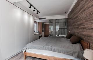140平现代风卧室装修效果图