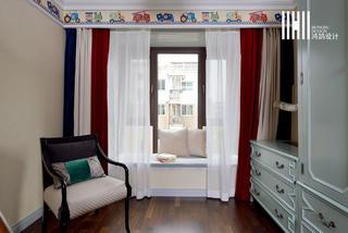 138平米四居室装修飘窗设计