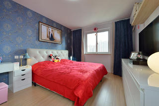 简约现代二居卧室装修效果图