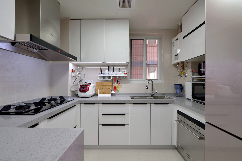 简约现代二居室厨房装修效果图