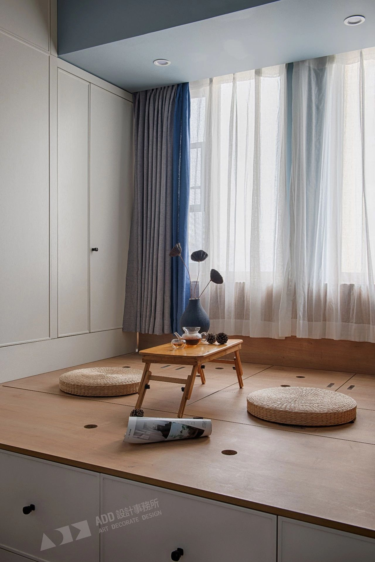 北欧风格二居室榻榻米装修效果图