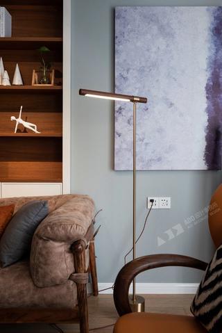 北欧风格二居室装修落地灯设计