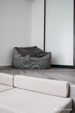 100㎡极简北欧风装修懒人沙发设计