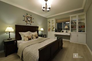 简约美式二居卧室装修效果图