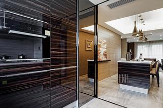 130平現代簡約風裝修櫥柜設計