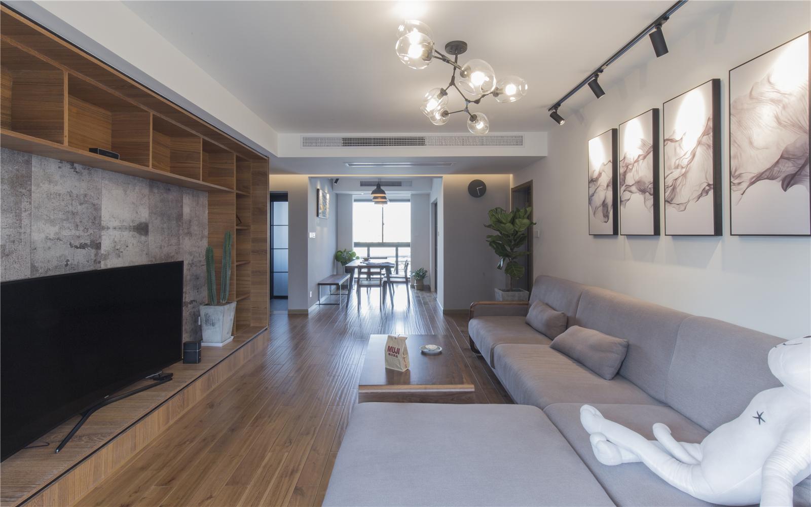 140平米二居室客厅装修效果图