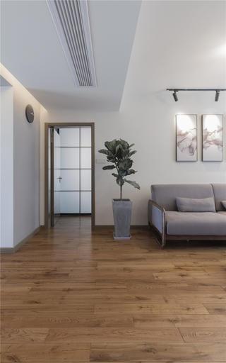 140平米二居室装修客厅过道设计