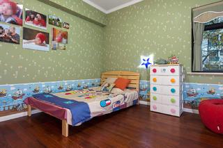 美式风三居室儿童房每日首存送20