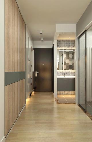 65平米两居室玄关装修效果图