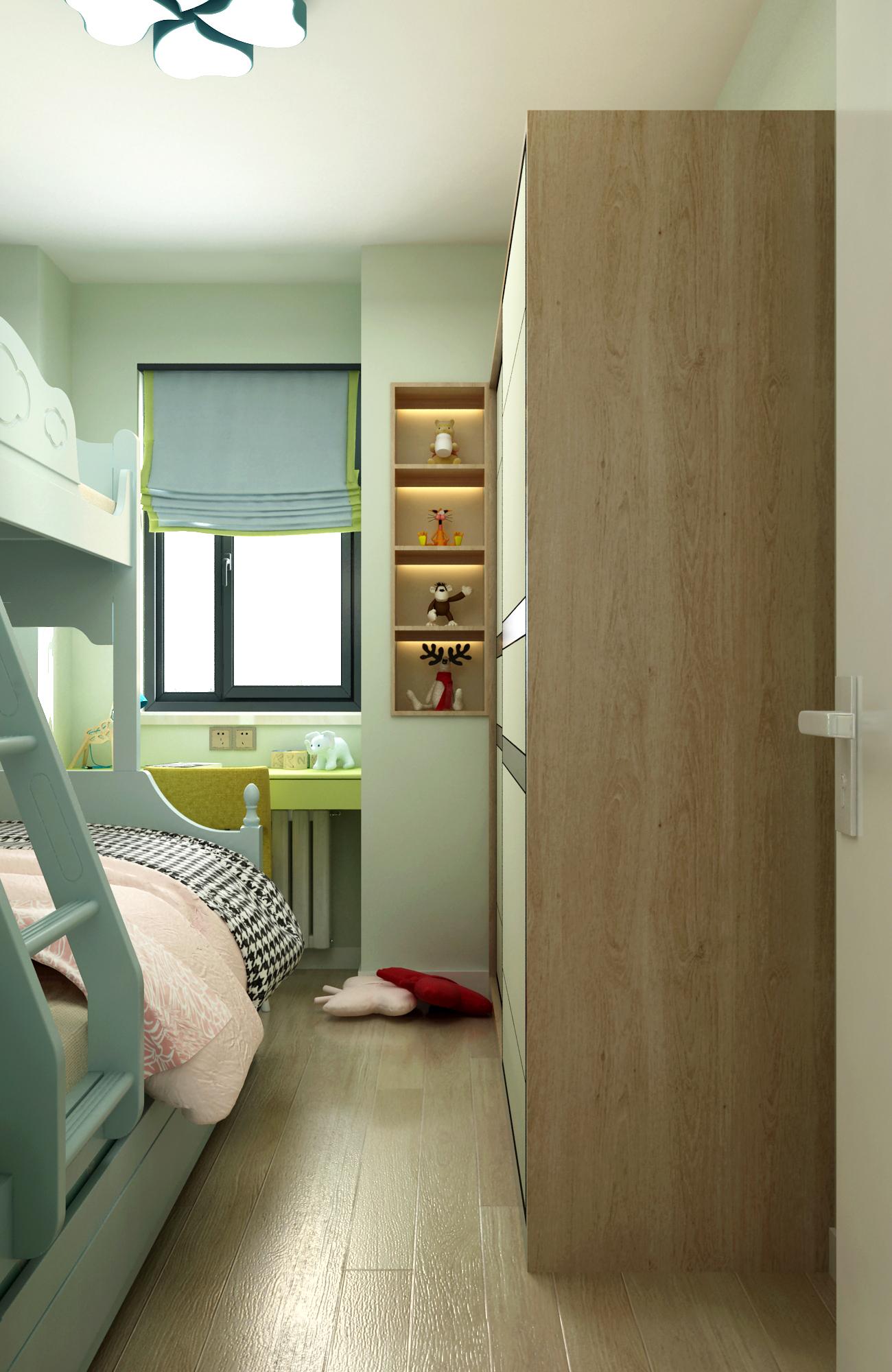 65平米两居室儿童房装修效果图