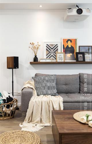 170㎡现代风沙发背景墙装修效果图