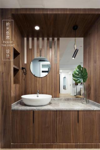 170㎡现代风装修洗手台设计图
