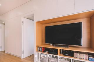 50平米小户型电视墙装修效果图