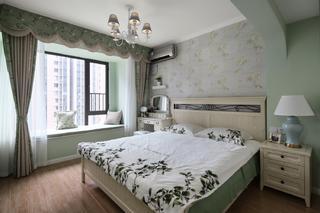 96平米三居卧室装修效果图