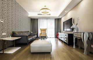 88平米两居室客厅装修效果图