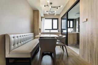 88平米两居室餐厅装修效果图