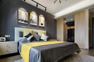 88平米两居卧室装修效果图