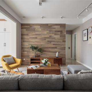 北欧风格三居装修效果图