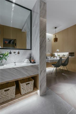 24平小户型两居洗手台装修效果图