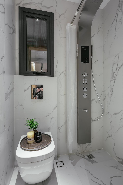 24平小户型两居卫生间装修效果图