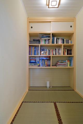 美式风格二居榻榻米书房装修效果图