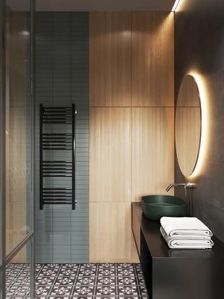 66平米公寓卫生间装修效果图
