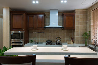 三居室美式风格厨房装修注册送300元现金老虎机图