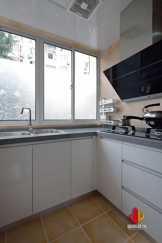 80㎡简美三居厨房装修效果图