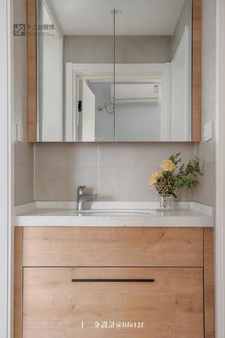 65平北欧风格装修洗手台设计图