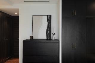 现代简约三居装修衣柜设计图
