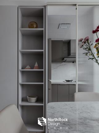 110㎡二居室装修展示柜设计