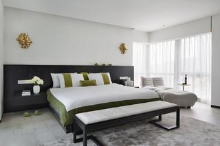 大户型现代风卧室每日首存送20