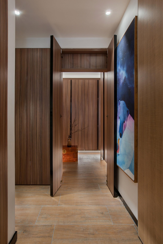 110平米三居室过道装修效果图