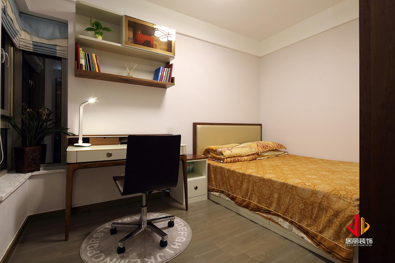 75平米三居室书房装修效果图