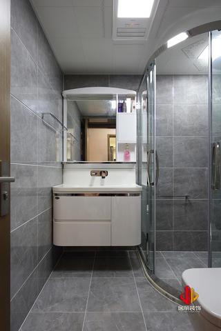 75平米三居室卫生间装修效果图
