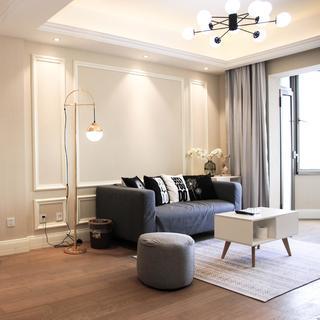 80平两居室装修效果图
