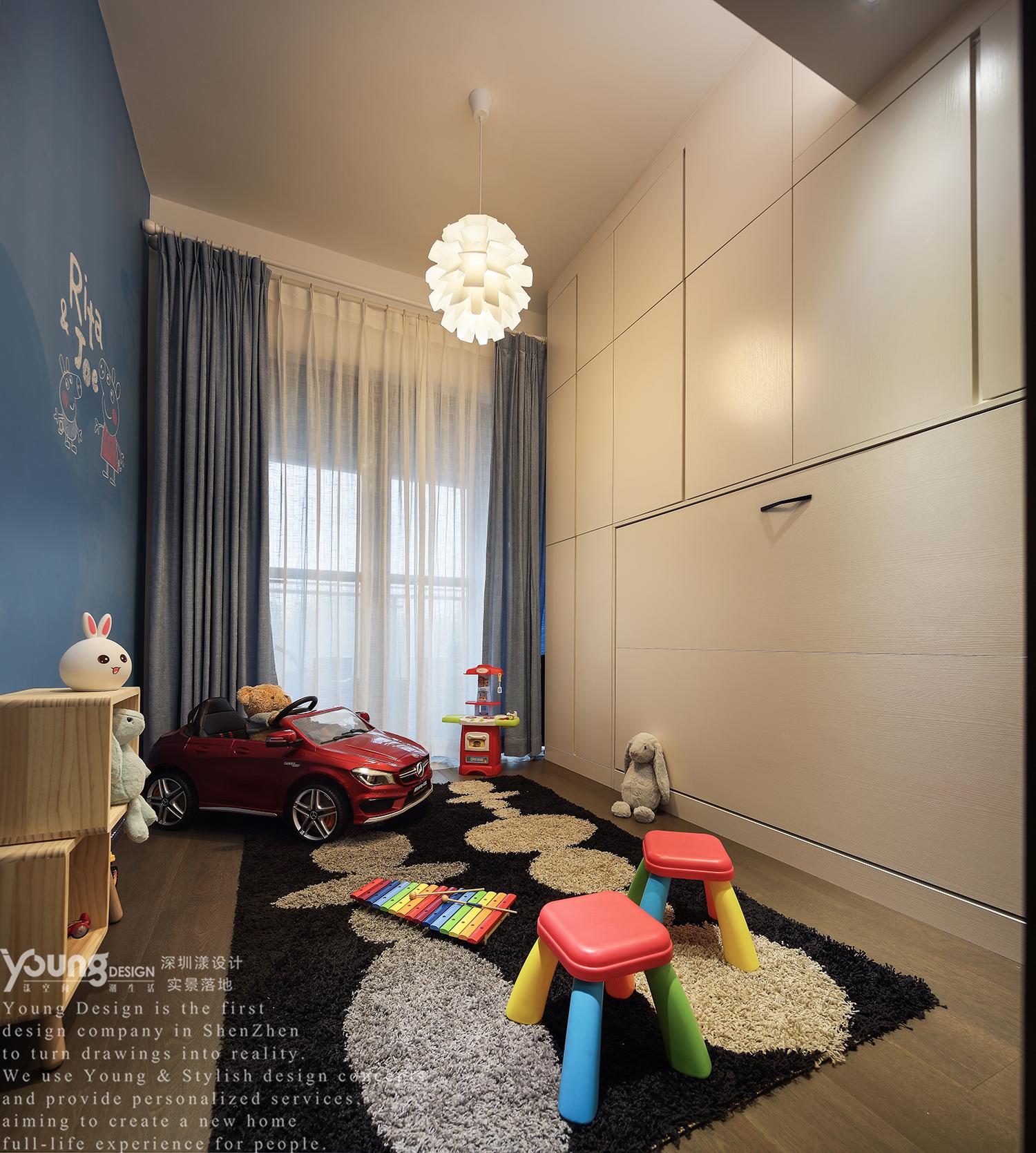 混搭风格三居儿童活动室装修效果图