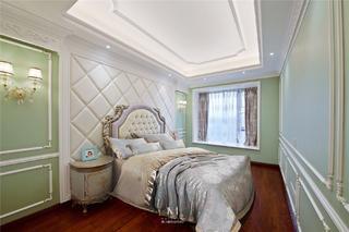 大户型法式风格卧室装修效果图