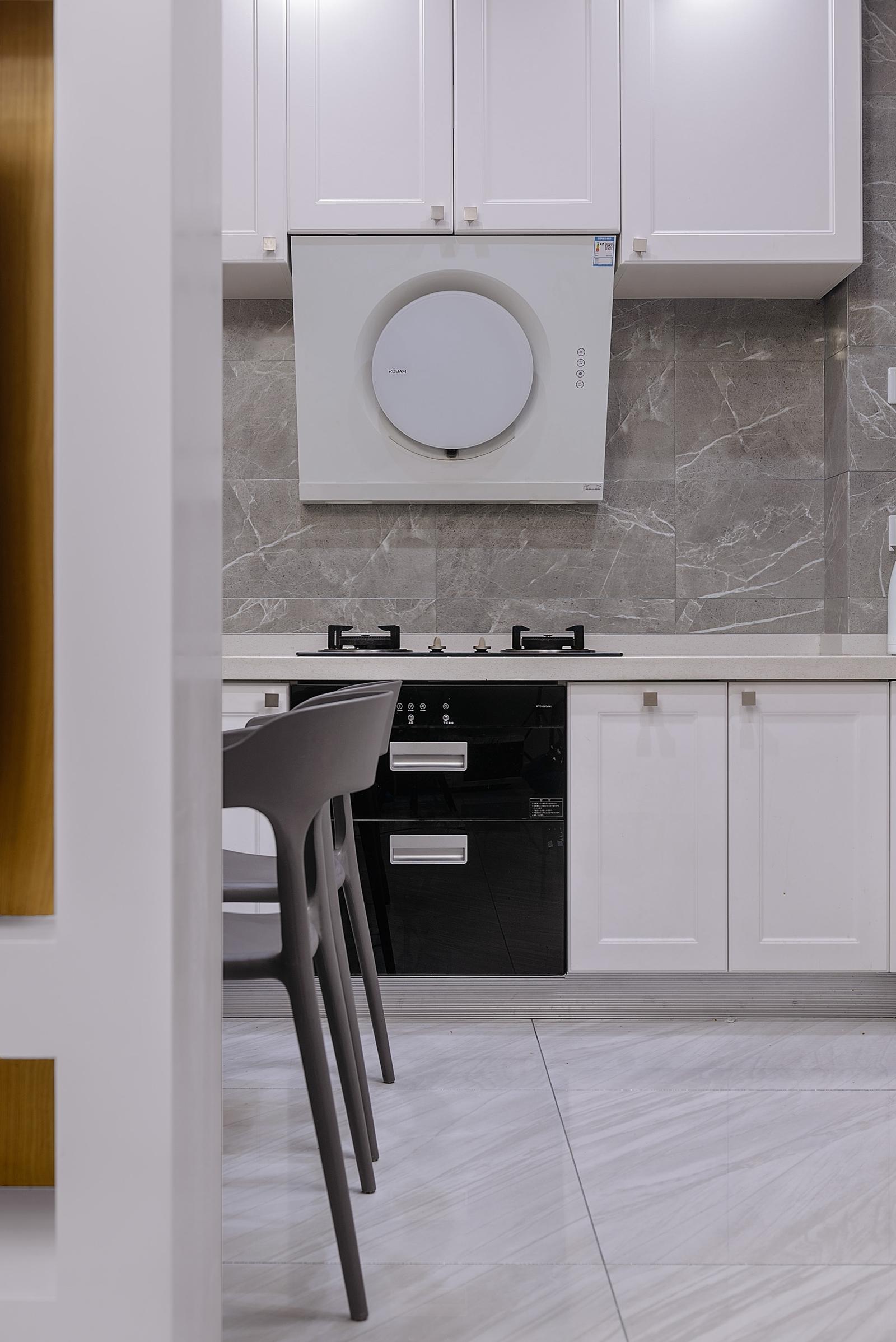 90㎡复式二居厨房装修效果图