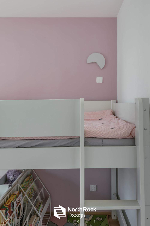 现代风三居室装修儿童床设计