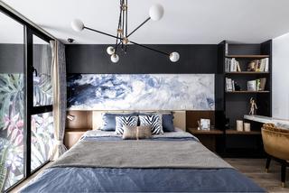 80㎡现代轻奢风卧室装修效果图